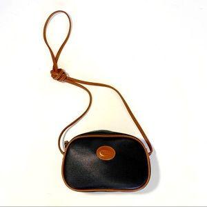 Esprit Black Brown Camera Bag Crossbody 90's Style